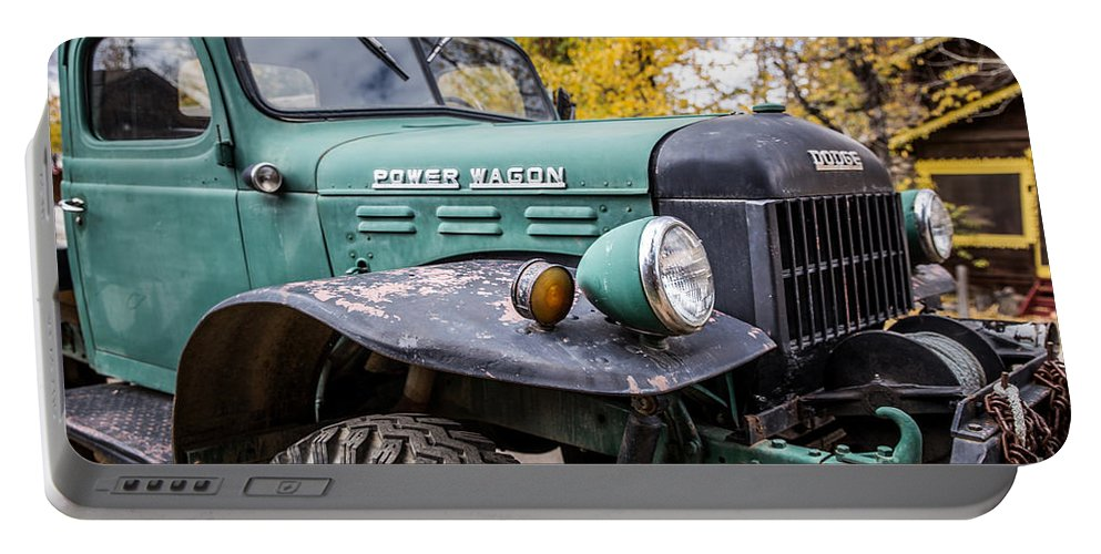 Power Wagon Portable Battery Charger featuring the photograph Power Wagon by Lynn Sprowl