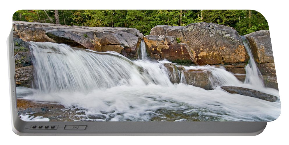 lower Falls Portable Battery Charger featuring the photograph Powerful Statement by Paul Mangold