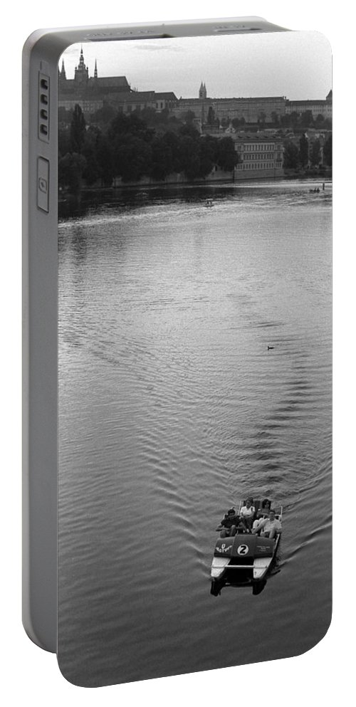 Prague Portable Battery Charger featuring the photograph Prague IIi by Patrick Klauss