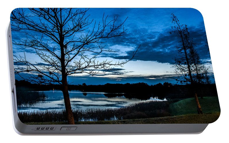 Sunrise Portable Battery Charger featuring the photograph Pre-dawn Light by Norman Johnson
