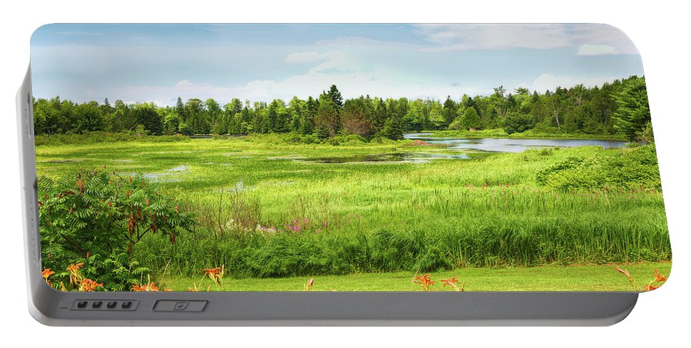 John Bailey Portable Battery Charger featuring the photograph Pretty Countryside by John M Bailey