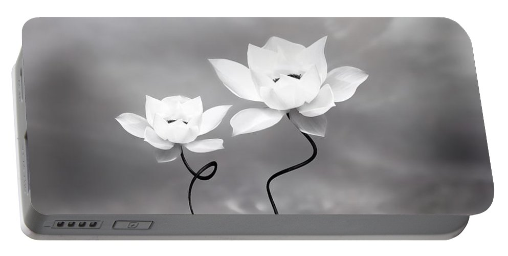 Surreal Portable Battery Charger featuring the photograph Prevail by Jacky Gerritsen