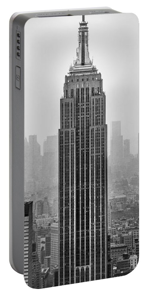 Empire State Building Portable Battery Charger featuring the photograph Pride Of An Empire by Az Jackson