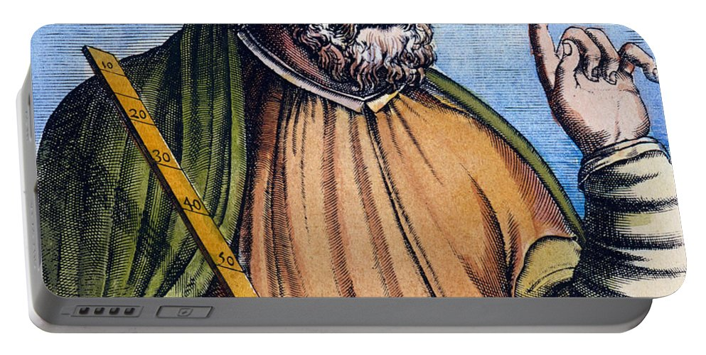 2nd Century Portable Battery Charger featuring the photograph Ptolemy (2nd Century A.d.) by Granger