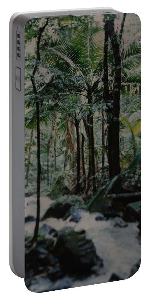 Trees Portable Battery Charger featuring the photograph Puerto Rico by Rob Hans