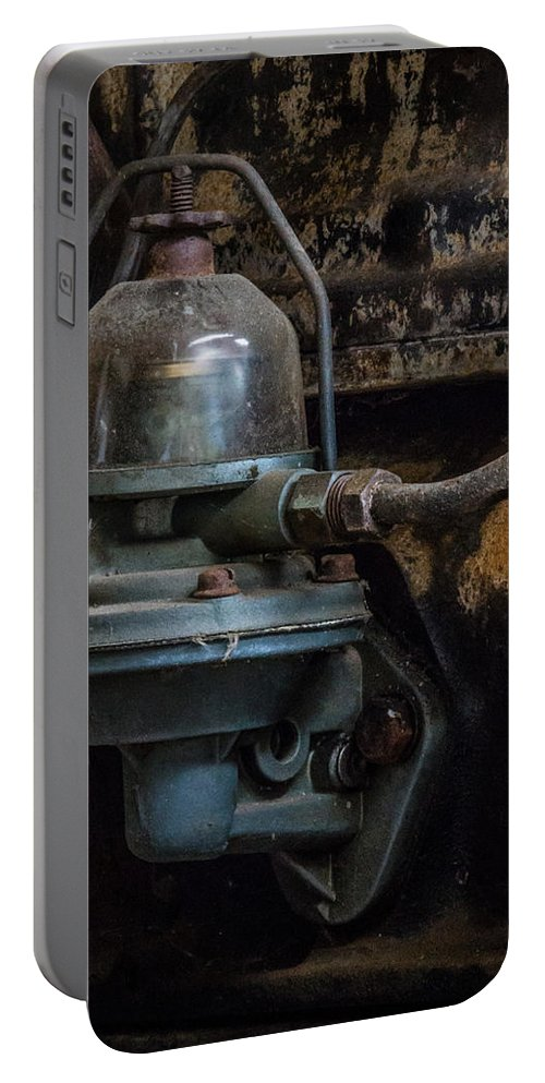 Fuel Pump Portable Battery Charger featuring the photograph Pump It Up by Marnie Patchett