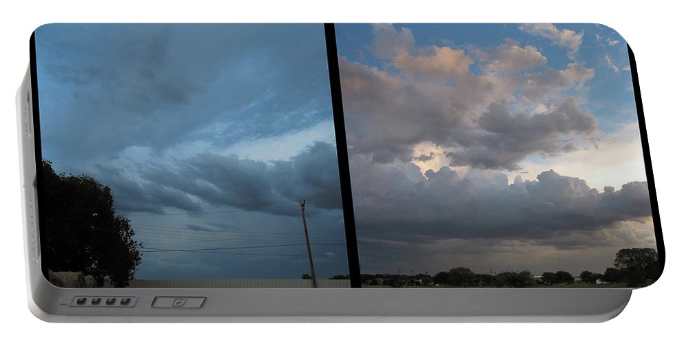 Purgatory Portable Battery Charger featuring the photograph Purgatory by James W Johnson
