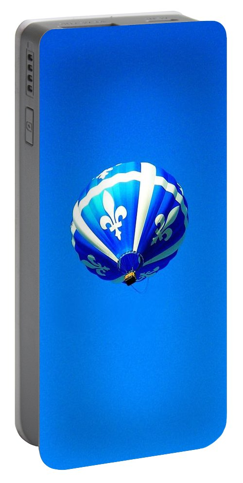Hot Portable Battery Charger featuring the photograph Quebec ... by Juergen Weiss