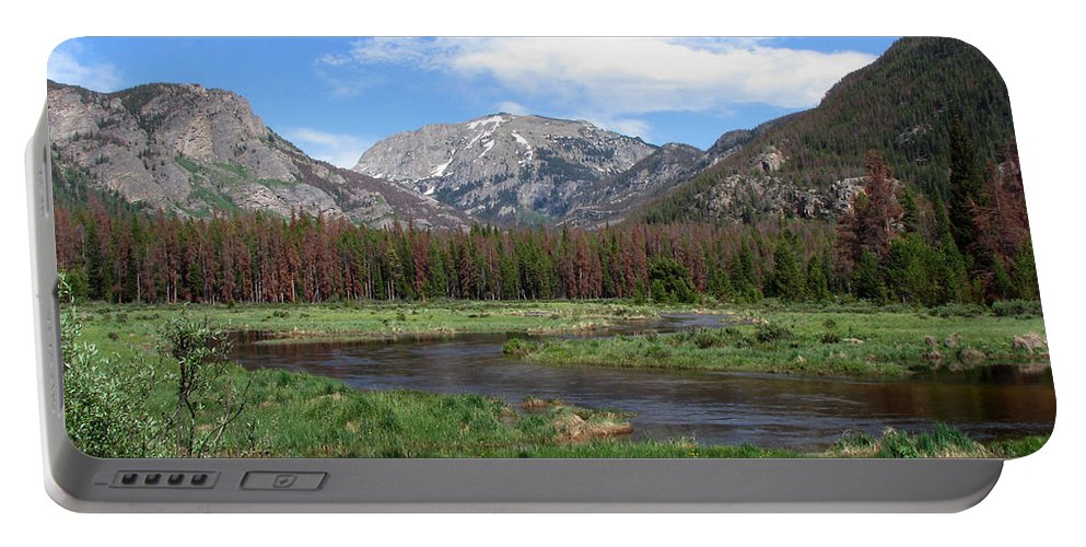 Nature Portable Battery Charger featuring the photograph Quiet by Amanda Barcon
