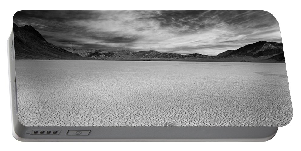 Race Track Valley Portable Battery Charger featuring the photograph Race Track Valley by Leland D Howard