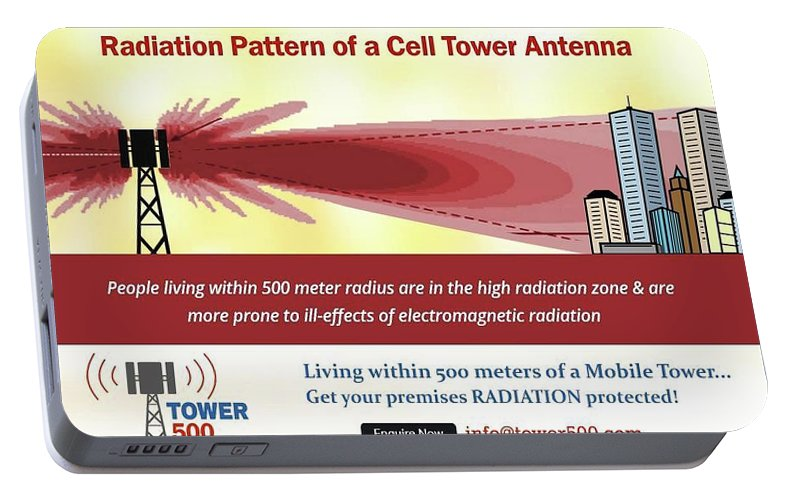 Radiation Pattern Of A Cell Tower Antenna Portable Battery Charger