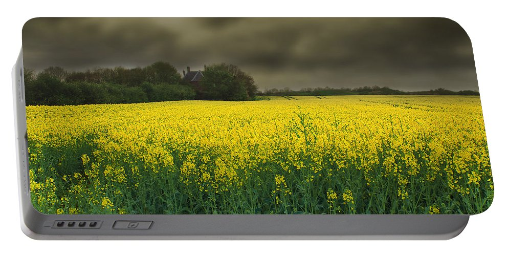 Beautiful Portable Battery Charger featuring the photograph Rain Is On Its Way by Svetlana Sewell