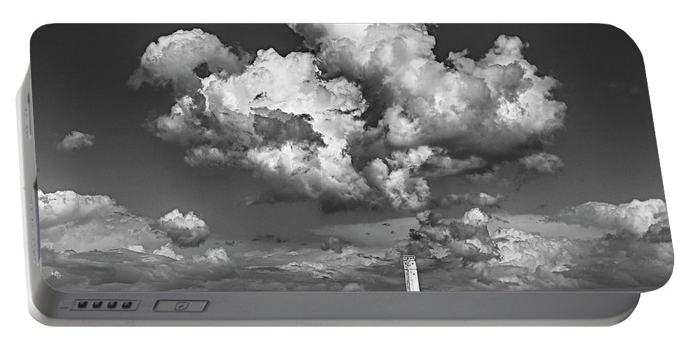 Great Lakes Lighthouses Portable Battery Charger featuring the photograph Rainmaker, Rainmaker by Jeffrey Ewig