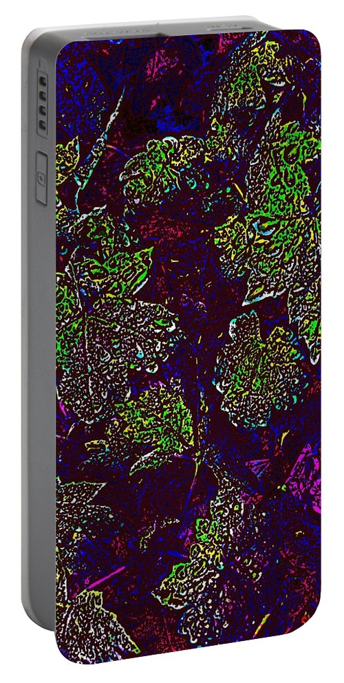 Weather Portable Battery Charger featuring the digital art Rainy Day Delight 2 by Tim Allen