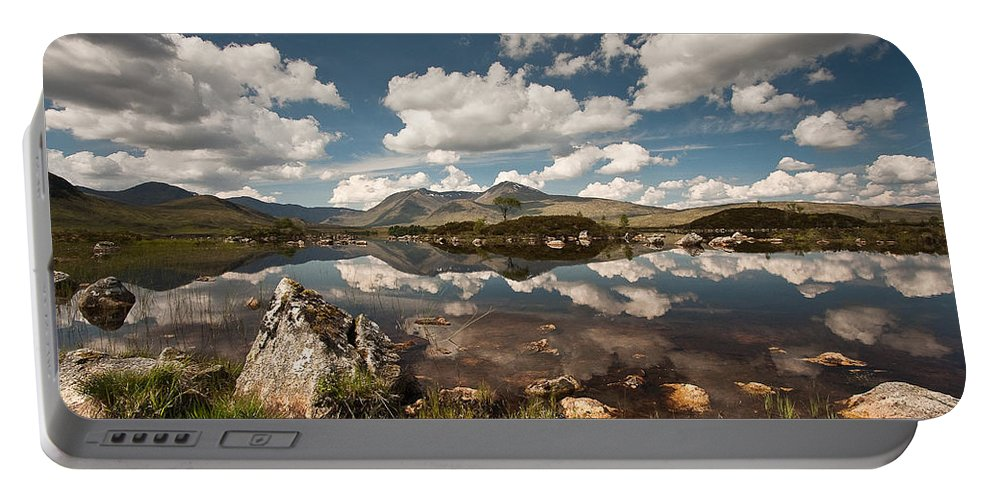 Scotland Portable Battery Charger featuring the photograph Rannoch Moor by Colette Panaioti