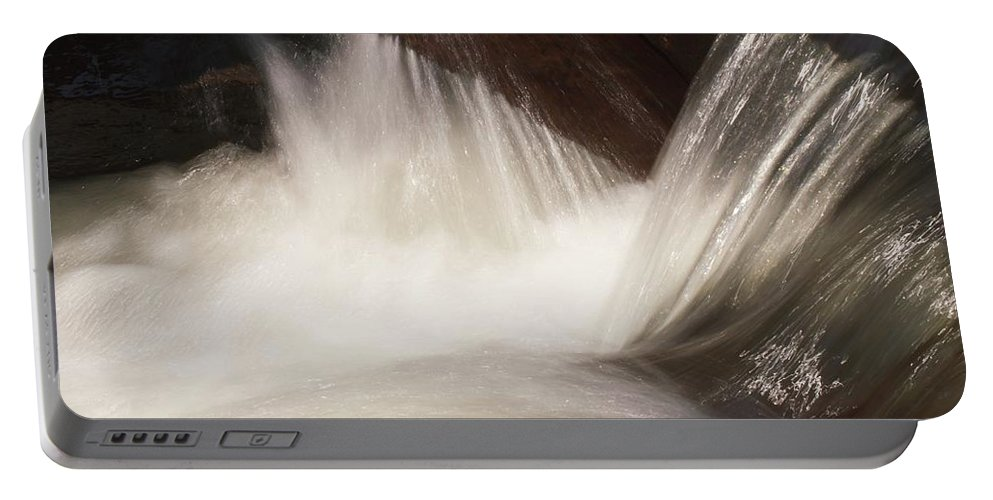 Water Portable Battery Charger featuring the photograph Rapids, Bear Creek by Stephen Hunter