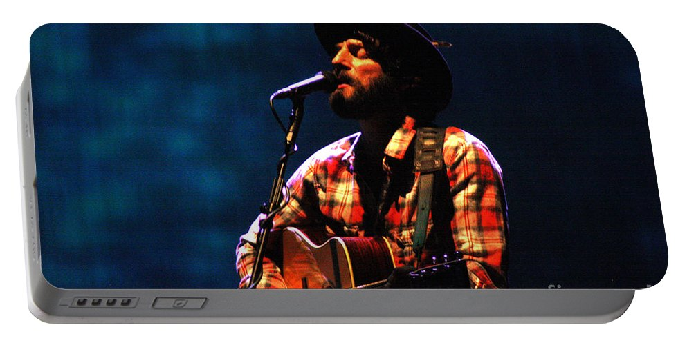 Ray Lamontagne Portable Battery Charger featuring the photograph Ray Lamontagne-9053 by Gary Gingrich Galleries