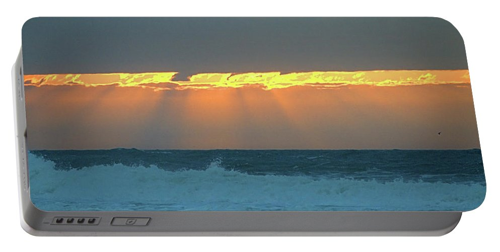 Ray Portable Battery Charger featuring the photograph Rays I I by Newwwman