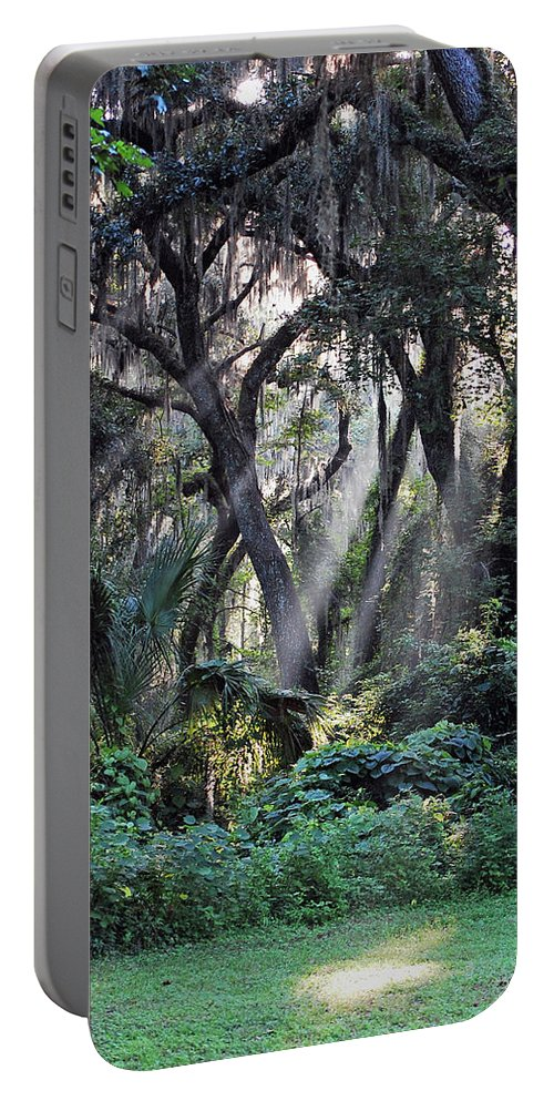 Rays Of Sunlight Portable Battery Charger featuring the photograph Rays Of Sunlight by Robert Meanor