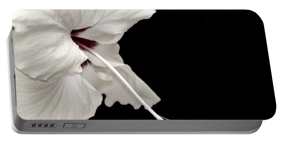 Flower Portable Battery Charger featuring the photograph Reach Out by Jacky Gerritsen