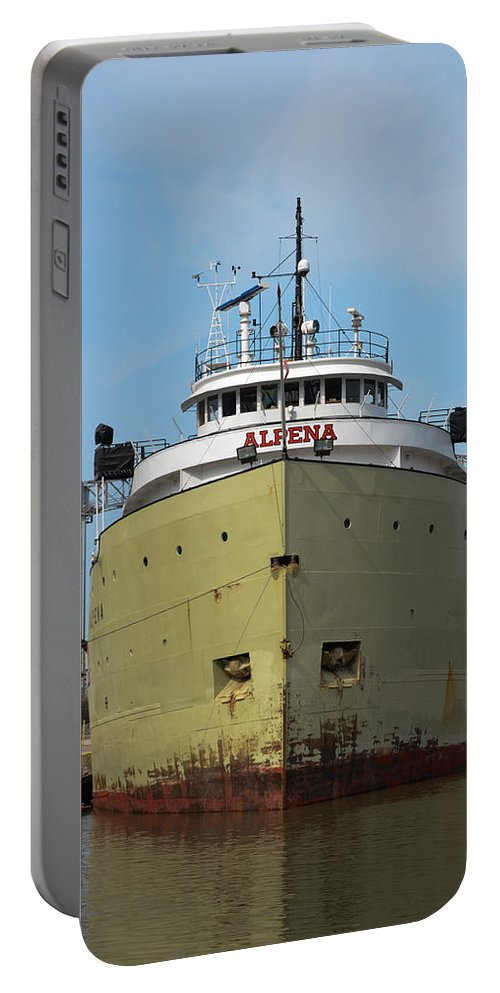 Christopher List Portable Battery Charger featuring the photograph Ready To Sail by Gales Of November