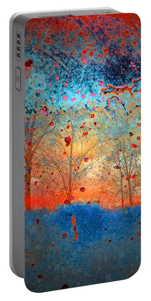 Trees Portable Battery Charger featuring the photograph Rebirth by Tara Turner