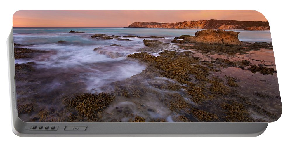 Sunrise Portable Battery Charger featuring the photograph Red Dawning by Mike Dawson