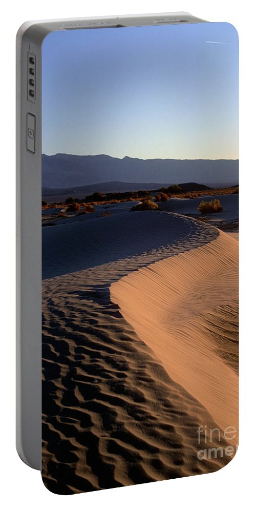 Sand Portable Battery Charger featuring the photograph Red Dunes by Jim And Emily Bush