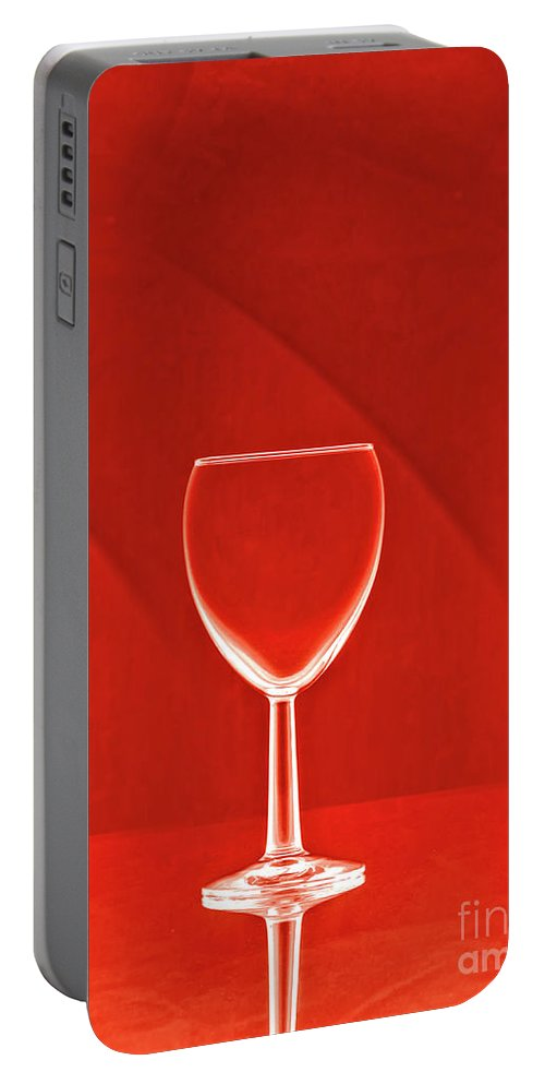 Red Red Wine Portable Battery Charger featuring the photograph Red Red Wine by Raven Deem