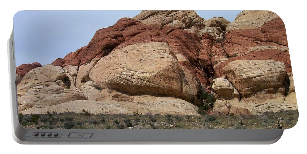 Red Rock Canyon Portable Battery Charger featuring the photograph Red Rock Canyon 2 by Anita Burgermeister