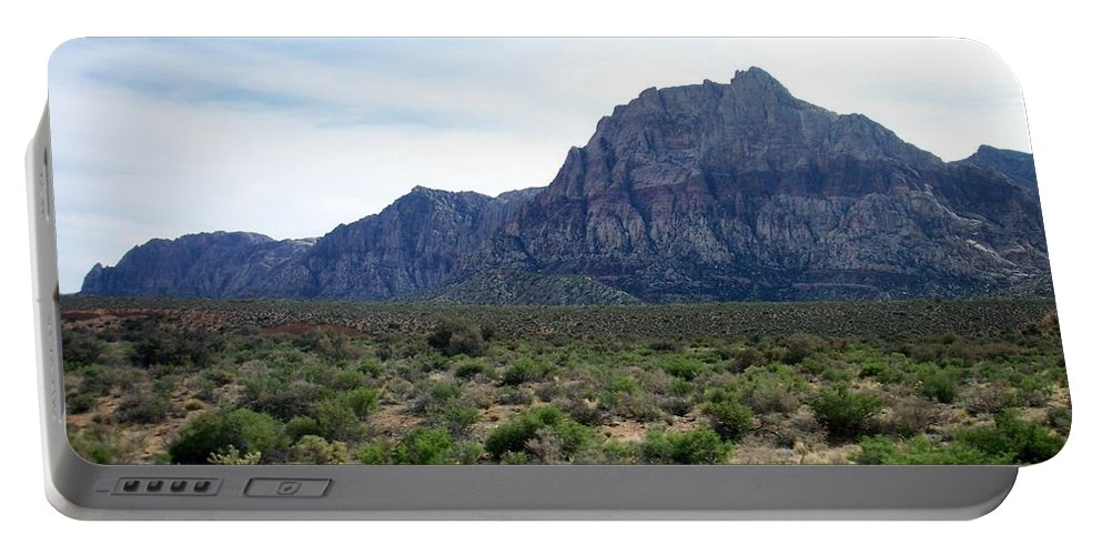 Red Rock Canyon Portable Battery Charger featuring the photograph Red Rock Canyon 3 by Anita Burgermeister