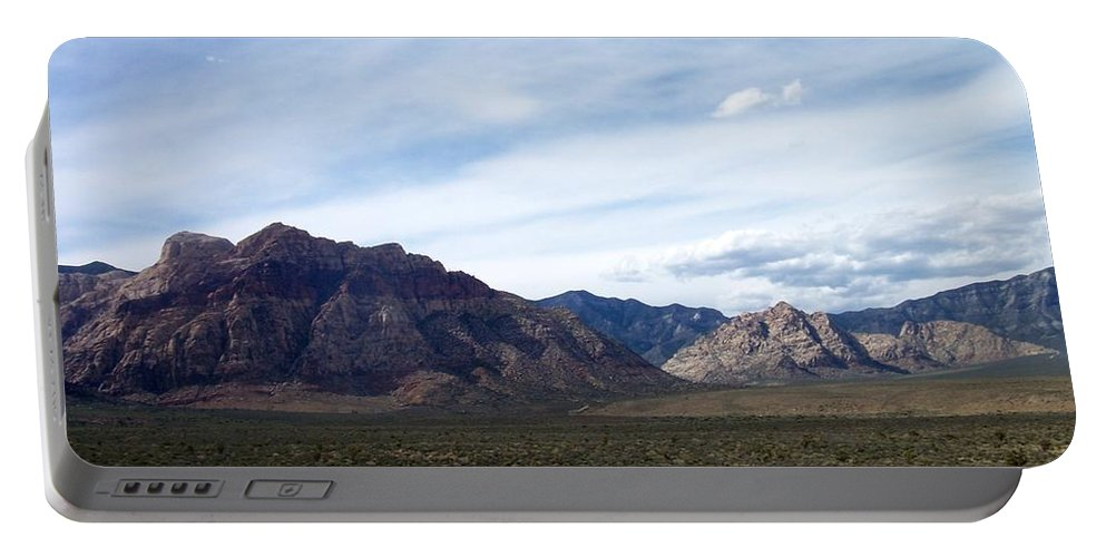Red Rock Canyon Portable Battery Charger featuring the photograph Red Rock Canyon 4 by Anita Burgermeister