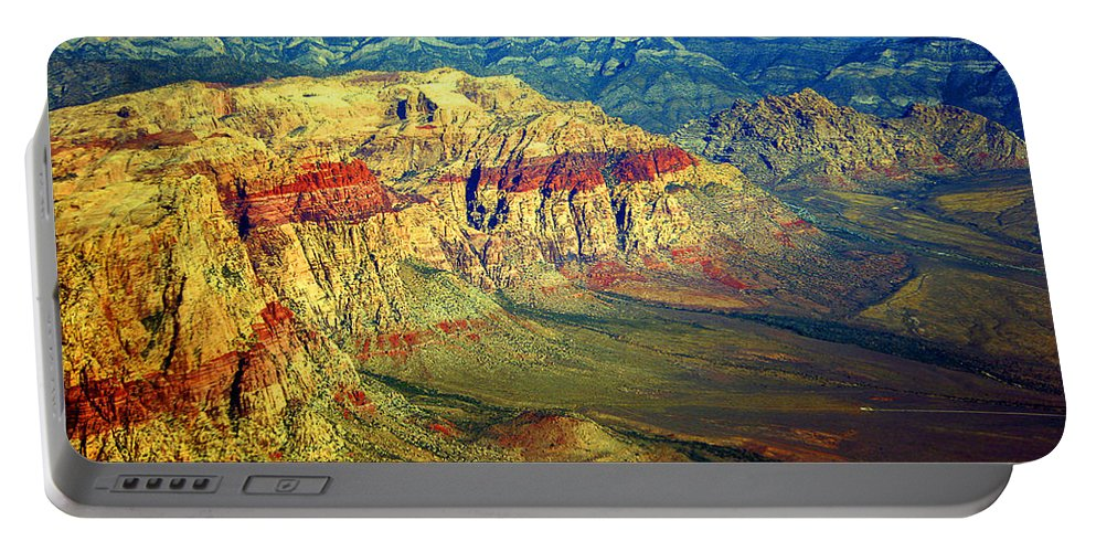 Red Rock Canyon Portable Battery Charger featuring the photograph Red Rock Canyon Poster Print by James BO Insogna