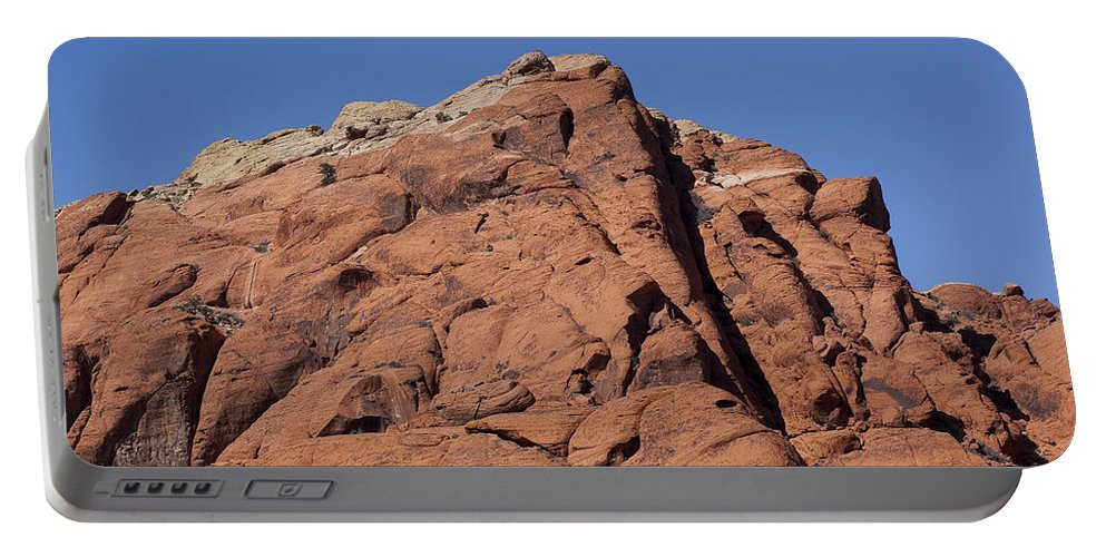 Rocks Portable Battery Charger featuring the photograph Red Rocks by Kelley King