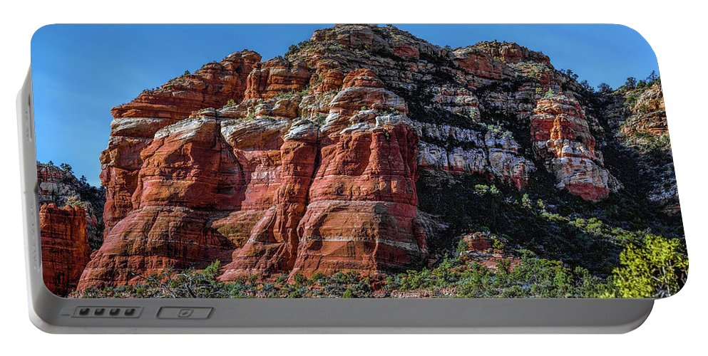 Jon Burch Portable Battery Charger featuring the photograph Red Rocks Of Sedona by Jon Burch Photography