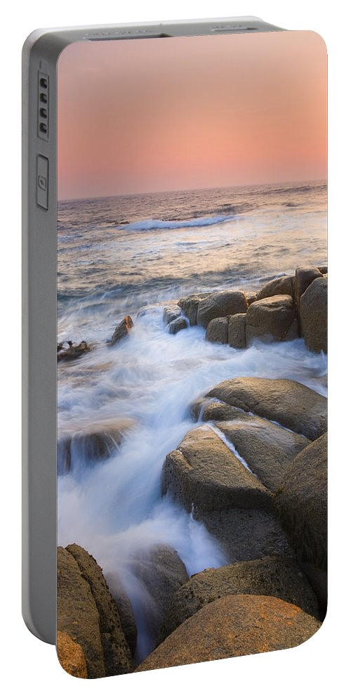 Sunrise Portable Battery Charger featuring the photograph Red Sky At Morning by Mike Dawson