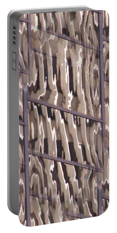 Reflection Portable Battery Charger featuring the digital art Reflection by Tim Allen