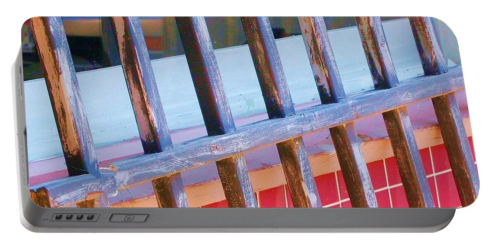 Gate Portable Battery Charger featuring the photograph Reflections by Debbi Granruth
