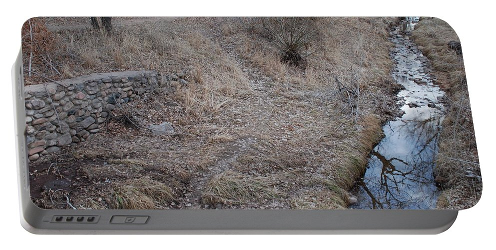 Water Portable Battery Charger featuring the photograph Reflections In The River by Rob Hans