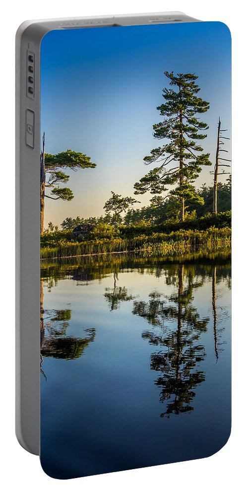 Canada Portable Battery Charger featuring the photograph Reflections Of Dawn by Mark Llewellyn