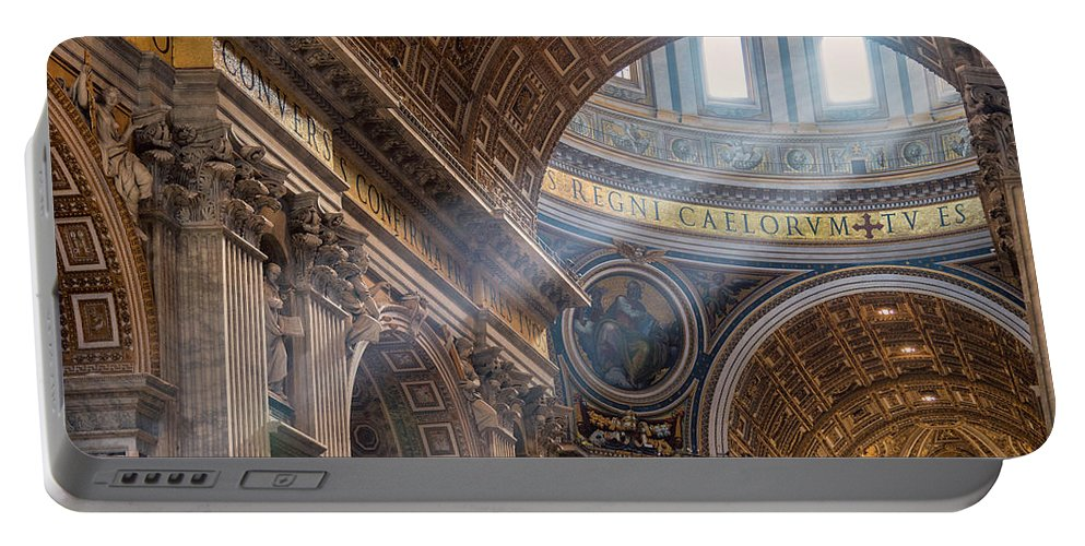 Rome Portable Battery Charger featuring the photograph Regnum Caelorum by Joseph Yarbrough