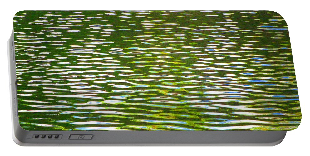 Water Portable Battery Charger featuring the photograph Relaxation by Sybil Staples