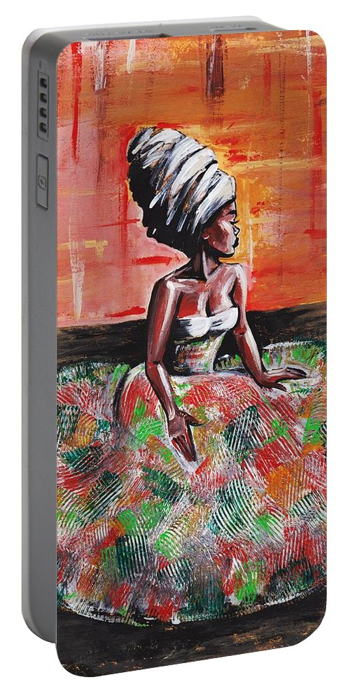 Stress Portable Battery Charger featuring the photograph Tranquil Moments by Artist RiA