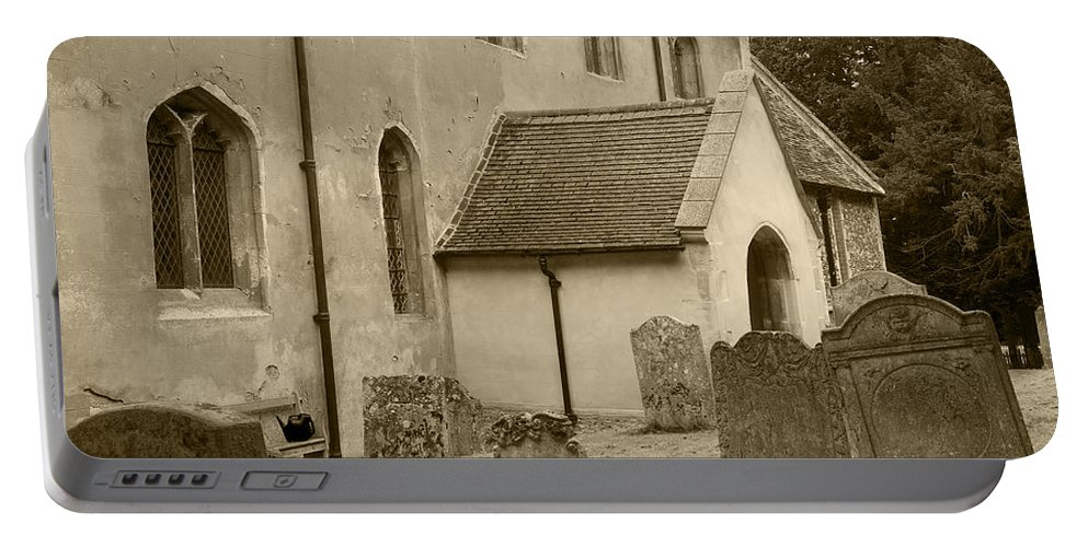 Church Portable Battery Charger featuring the photograph Remember Before God IIi by Elena Perelman