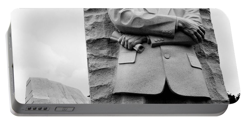 Memorials Portable Battery Charger featuring the photograph Remembering Mr. King by Charles HALL