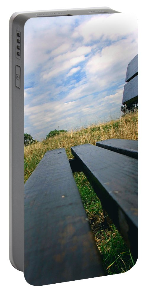 Sympathy Portable Battery Charger featuring the photograph Remembrance by Heather Lennox