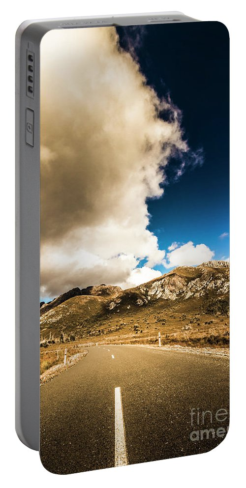 Remote Portable Battery Charger featuring the photograph Remote Rural Roads by Jorgo Photography - Wall Art Gallery