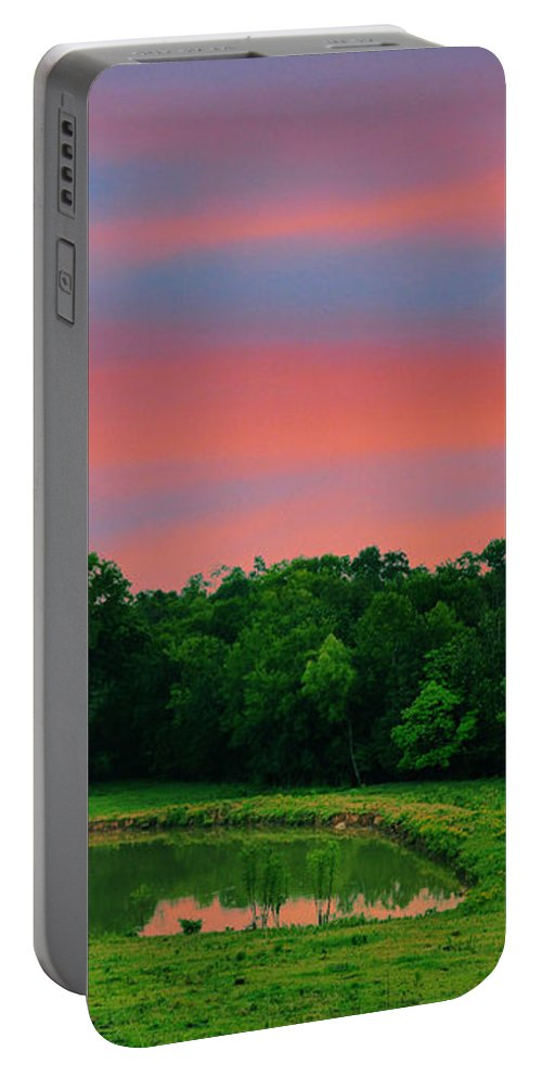 Landscapes Portable Battery Charger featuring the photograph Restful Afternoon by Jan Amiss Photography