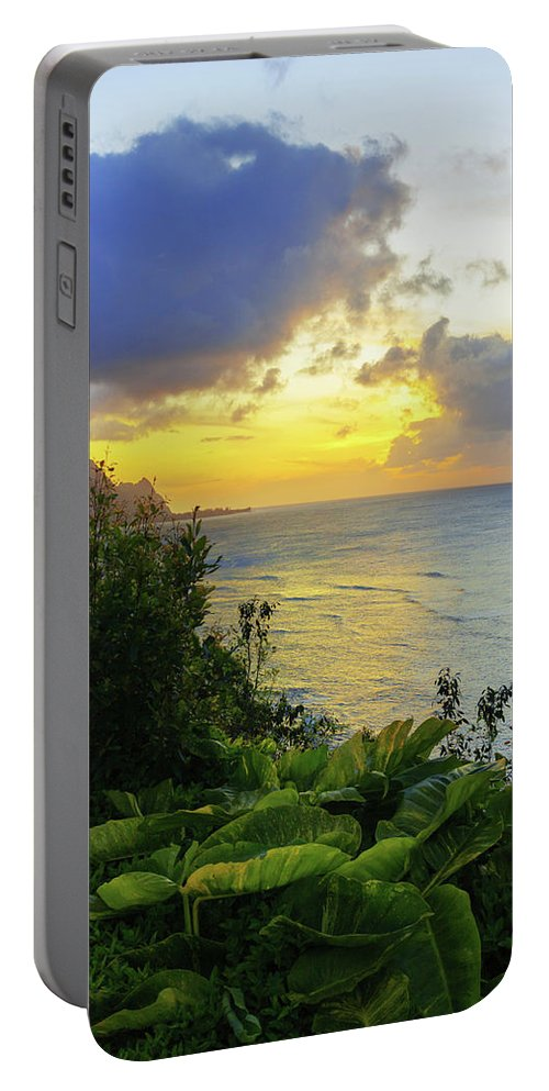 Beach Portable Battery Charger featuring the photograph Return by Chad Dutson