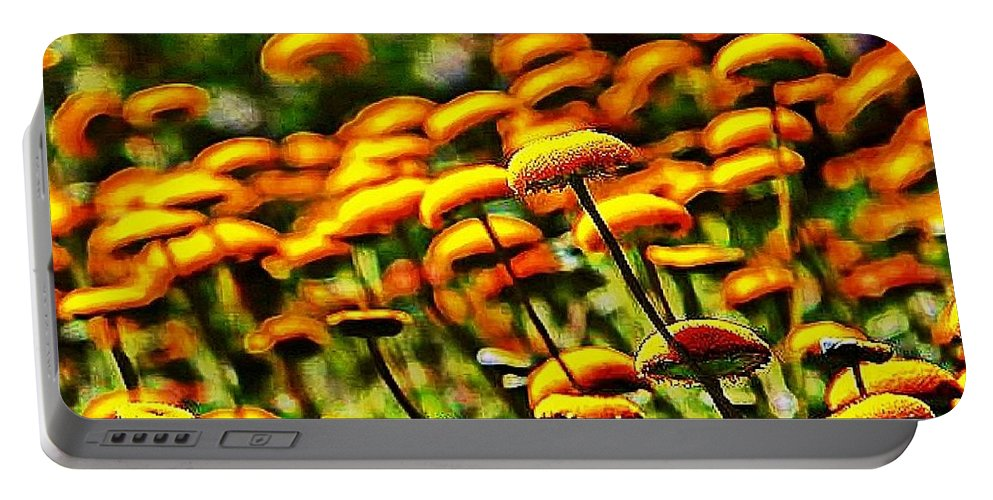 Digital Art Photography Portable Battery Charger featuring the digital art Reverie by Robert Grubbs